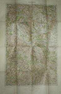 Kolín 45x65cm - mapa