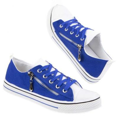 Tenisky modré Nová kolekce AKCE  (37) 3288-blue