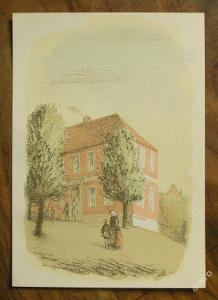 Müller 1947 - Orig. litografie - (E736)