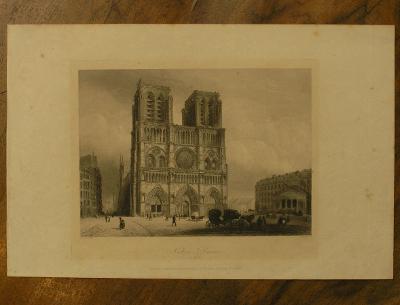 Notre Dame - Paříž - (G73)