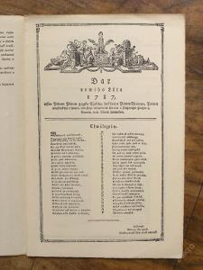 Nový rok 1787 - Ruční papír 1941 - (E56)