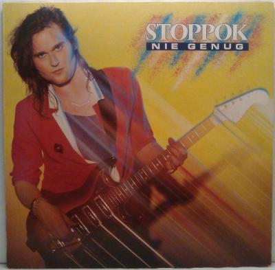 LP Stoppok - Nie Genug, 1986 EX