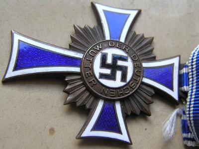 Kříž matek bronz, Mutterkreuz bronze sáček Melzer