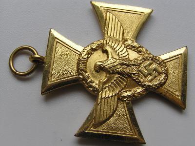 Policejní kříž zlatý