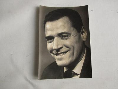 Starý pohled herec Josef Bek