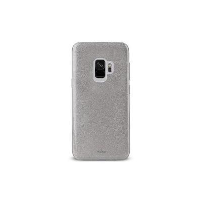 """Puro zadní kryt """"SHINE"""" pro Samsung Galaxy S9, stříbrná"""