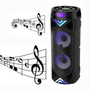 Přenosný reproduktorový systém ZQS-6201++karaoke++mikrofon++