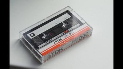 Audio Kazeta TDK D Dynamic Cassette 60 Japan