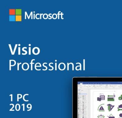 Microsoft Office Visio 2019 Professional CZ elektronická licence 24H