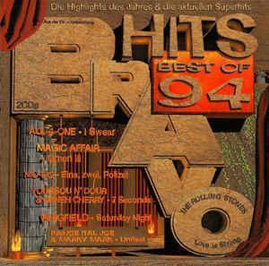 Various – Bravo Hits Best Of '94   - 2CD  1994