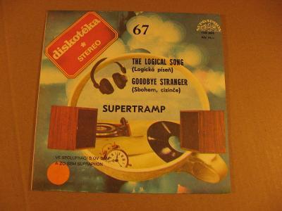 Supertramp THE LOGICAL SONG, GOODBYE STRANGER 1984 SP stereo