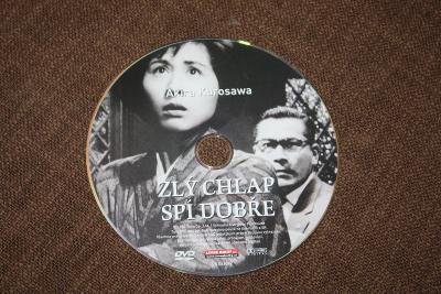DVD - Akira Kurosawa Zlý chlap spí dobře