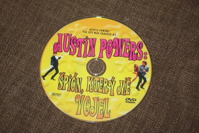DVD - Austin Powers špión, který mě vojel