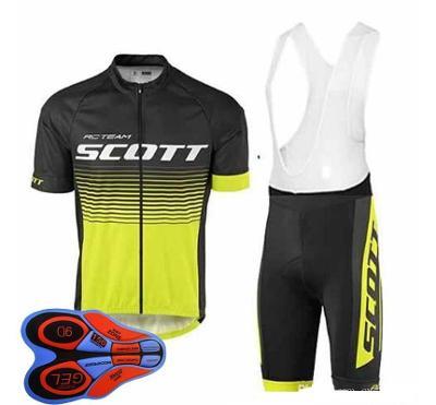 Cyklistický dres + kalhoty s gelovou vložkou SCOTT, různé velikosti