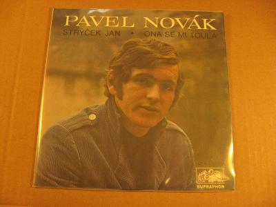 Novák Pavel STRÝČEK JAN, ONA SE MI TOULÁ 1971 SP mono