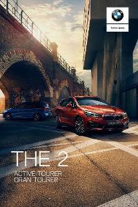 BMW řady 2 Active & Gran Tourer model 2020 prospekt 2 2019 PL