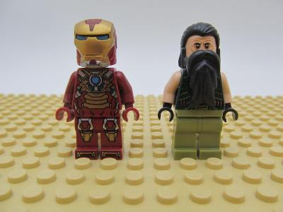 LEGO figurka minifigures 76008 Iron Man The Mandarin