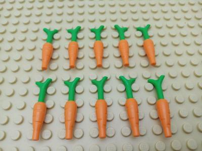 LEGO original mrkev 10 ks