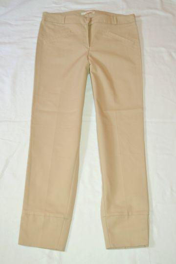 Pěkné béžové kalhoty Camaieu, vel. 38