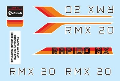 Rámové polepy na jízdní kolo Velamos RMX 20