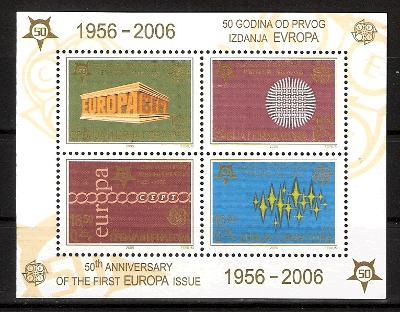 Aršík EUROPA Cept 2005, Č.Hora a Srbsko, *MNH*
