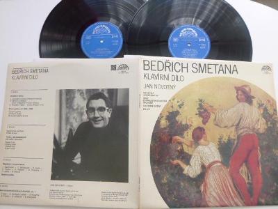 Dvojalbum Bedřich Smetana KLAVÍRNÍ DÍLO Jan Novotný / BAGATELY A IMPRO