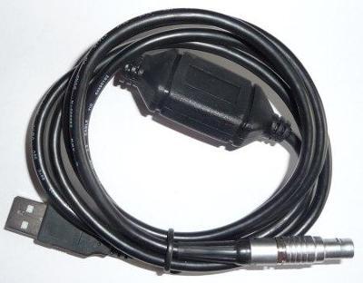 Kabel pro připojení totálních stanic LEICA do PC USB