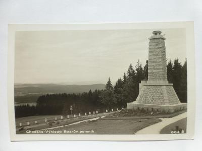 Chodsko - Výhledy, Klenčí pod Čerchovem, Chodov, Domažlice - pomník