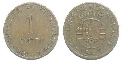 Mozambik 1 E 1945