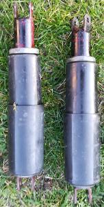 Jawa, ČZ, Velorex originál zadní tlumiče plastové kryty