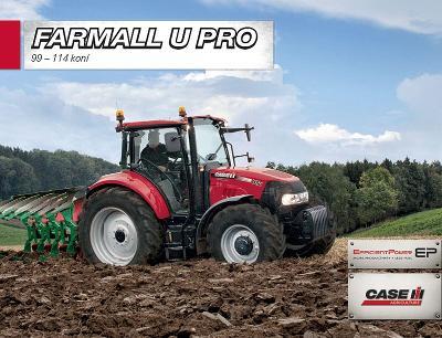 CASE Farmall U Pro prospekt 03 / 2015 traktor CZ