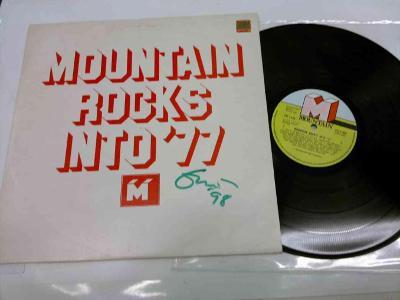 ERIC CLAPTON - MOUNTAIN ROCKS INTO 77 - S ORIGINÁL PODPISEM