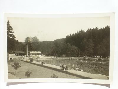 Rychnov nad Kněžnou - koupaliště 1936