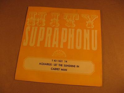 Carpet Man AQUARIUS, LET THE SUSHINE IN 1973 SP stereo