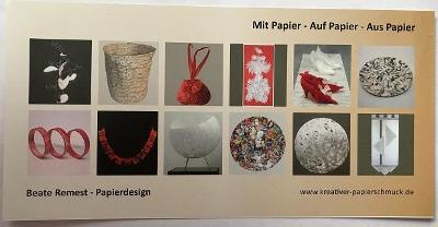Kartička Papierdesign, Beate Remest
