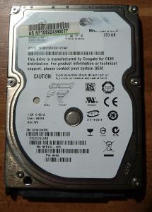 HDD 2,5 SATA - 250Gb