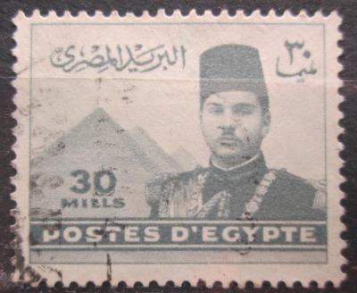 Egypt 1939 Král Farouk Mi# 252 a 1159
