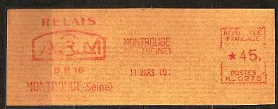 France firemny vystr. 1960 Montrouge ... P098
