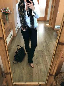 Luxusní Zadig Voltaire jeans 25 nove pc 8000 kc