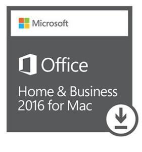 Office 2016 Home & Business MacOS - elektronická licence CZ 24H