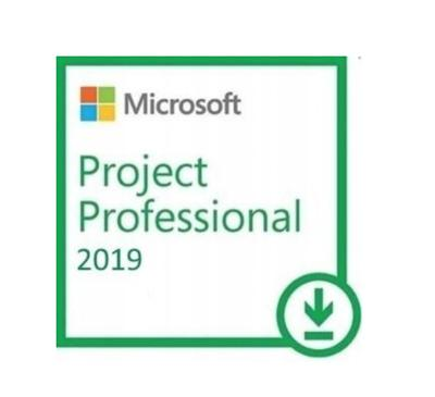 Microsoft PROJECT Professional 2019 CZ elektronická licence 24H