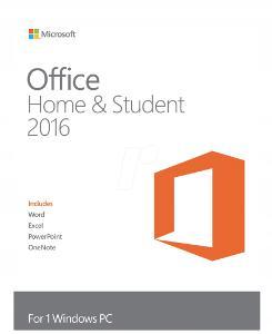 Microsoft Office 2016 Home and Student  Windows elektronická licence