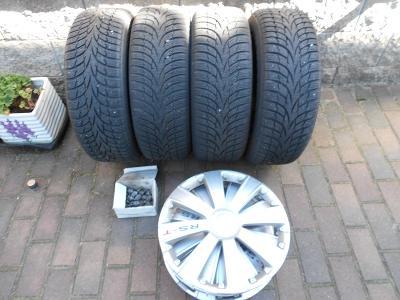 Zimní pneumatiky NOKIAN WR D3 na ocelových discích