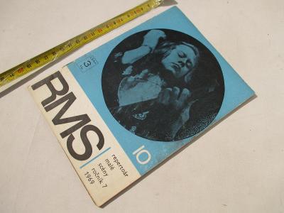 STARÝ ČASOPIS REPERTOÁR MALÉ SCÉNY - 10/1969