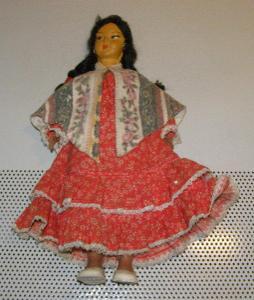 Indiánka panenka z Mexika