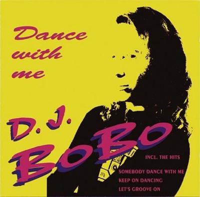 DJ BOBO - Dance With Me CD Album (EAMS 1993)