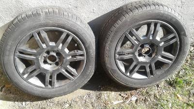 2 ks pneu s disky- Alu kola -16 od koruny