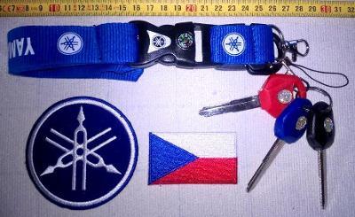 YAMAHA-sada pro výrobu náhradních klíčů (nevyřazené čepele).