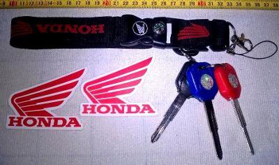 HONDA-sada pro výrobu náhradních klíčů (nevyřazené čepele).