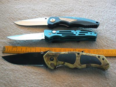 Nůž sběratelský 3 ks